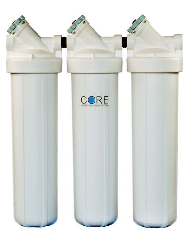 Tri-Core Platinum Water Treatment System