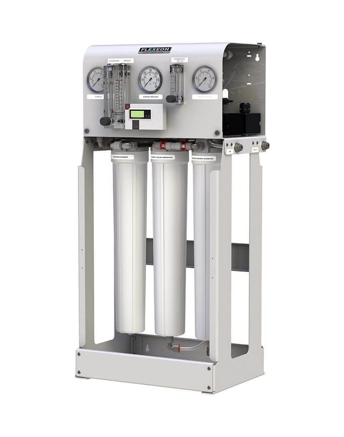 750 GPD Commercial Reverse Osmosis System